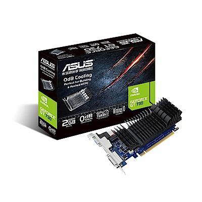 ASUS華碩 GeForce GT 730 2GB GDDR5 短版顯示卡
