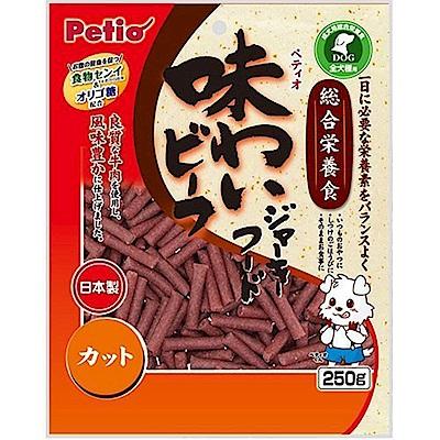 日本PETIO《牛肉條 (短)》250G/包X3包組