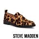 STEVE MADDEN-JUDITH 時髦潮感動物紋低跟樂福鞋-豹紋 product thumbnail 1