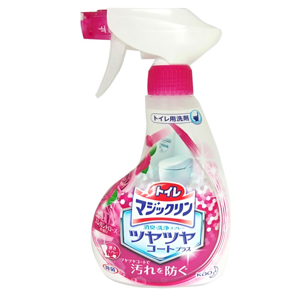 日本花王 廁所除臭清潔噴霧-玫瑰香(380ml)