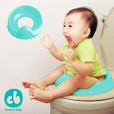 Creative Baby 多功能幼兒學習馬桶軟墊 (藍綠色)