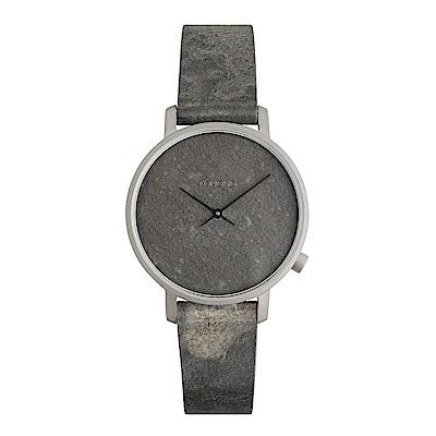 KOMONO Harlow 腕錶-石階灰/36mm