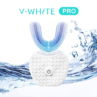 [限時下殺] 美國 V-White 第二代PRO 免持變頻電動牙刷 奈米藍光 凈齒新科技
