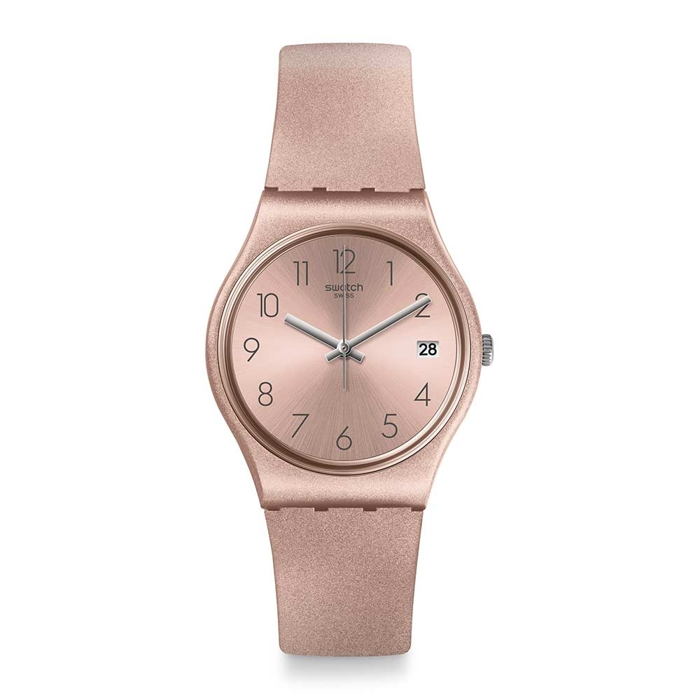 Swatch Core Refresh 系列手錶 PINKBAYA 小粉紅 - 34mm
