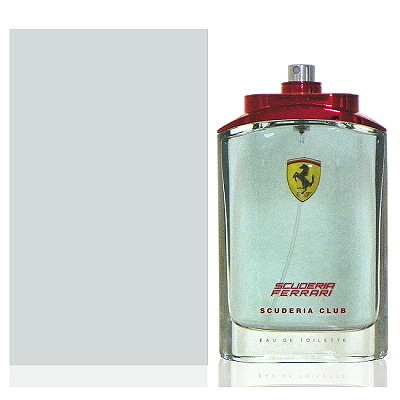 Ferrari Scuderia Club 勁速聯盟男性淡香水125ml Tester