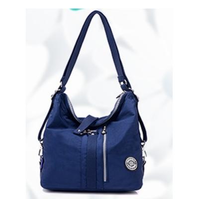 YS9822BU潮流百搭三用後背包.手提包 .側背包 .休閒包藍色