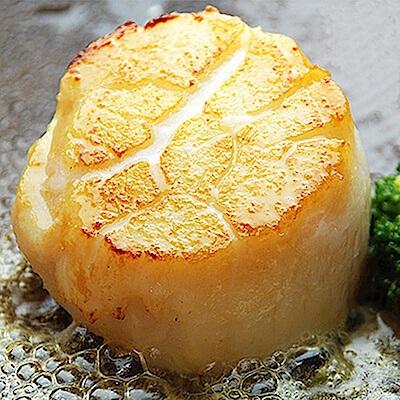 馬姐漁舖 北海道原裝生食級S生鮮干貝10顆入