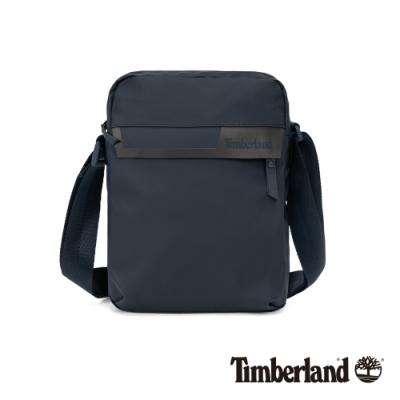 Timberland 中性深寶石藍色簡約防水斜背包|A1D1O