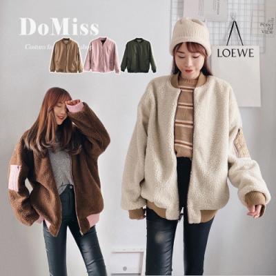 DoMiss爆推-羊羔毛飛行外套(3色)