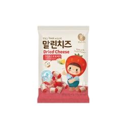 韓味不二 韓國原裝 乾起司(奶油乳酪&草莓)(13g)