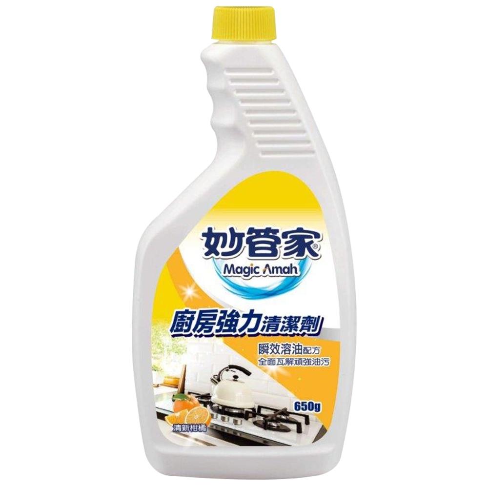 【妙管家】廚房強力清潔劑重裝650g