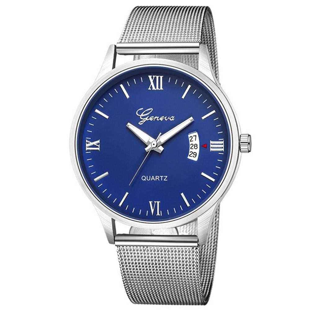 Geneva 日內瓦-極度時尚日曆米蘭帶手錶(3色任選) product image 1