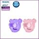 Philips Avent 矽膠熊熊安撫奶嘴 3M+~ (紫/粉) SCF194/05 product thumbnail 2