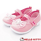 HelloKitty童鞋 凱蒂簡約娃娃鞋款 SE18743粉(中小童段)