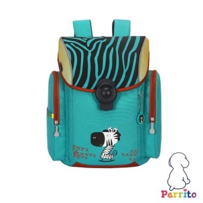 Perrito「彩虹學園」太空核心護脊兒童書包 (綠色)