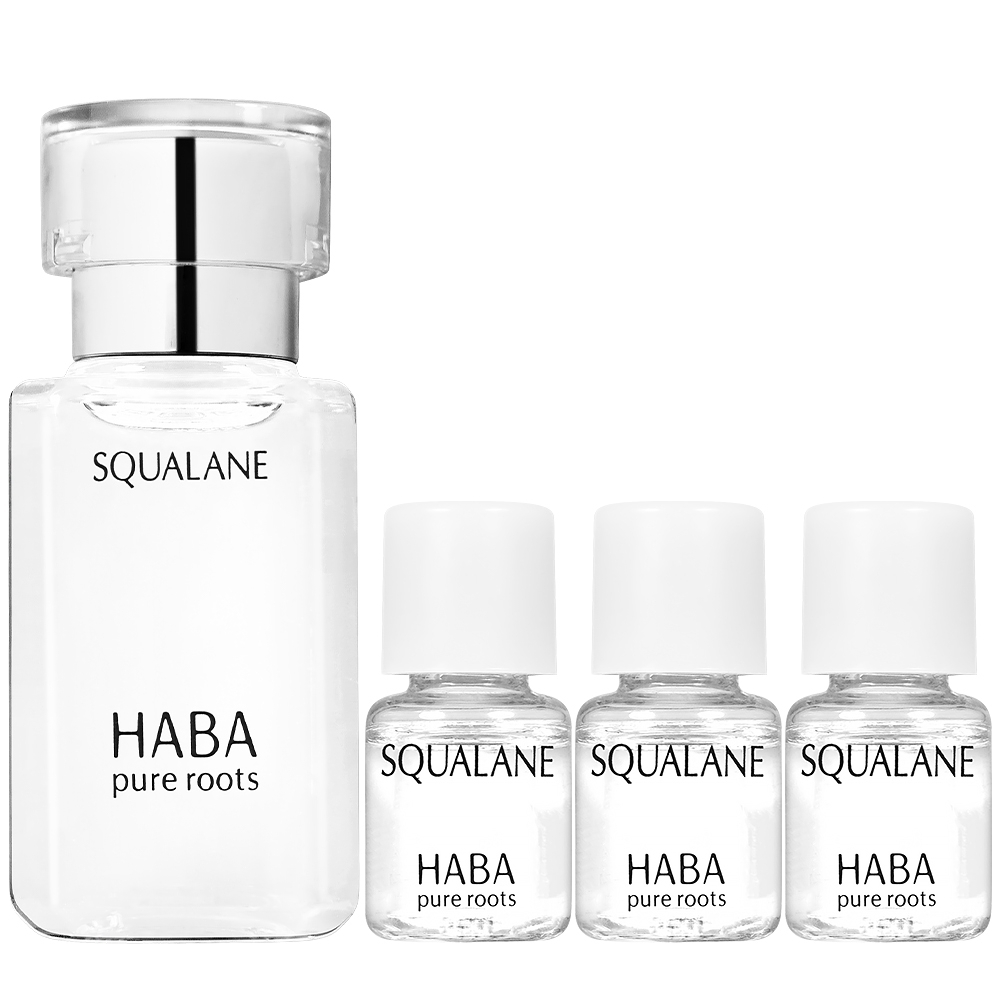 HABA 無添加主義 純海角鯊精純液I(15ml)+(4ml)*3