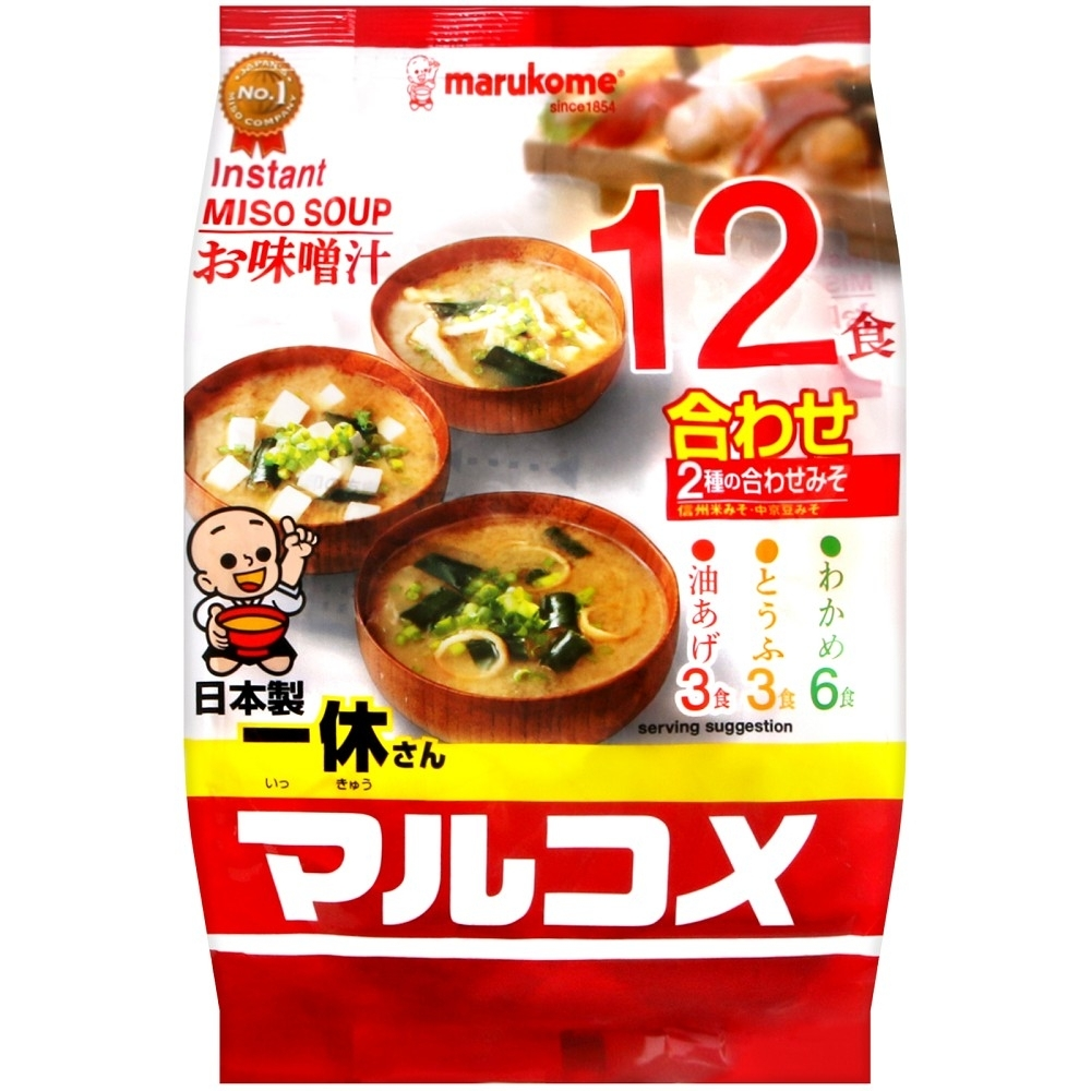 Marukome 料亭之味元氣味噌湯(216g)
