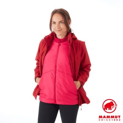 【Mammut 長毛象】Trovat 3in1 HS 兩件式外套 紅色 女款 #1010-27320