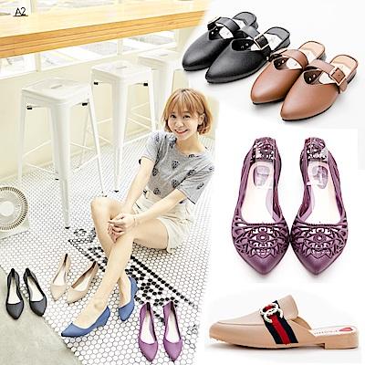 [時時樂限定]River&Moon雨鞋 韓版防水鞋均價多款選