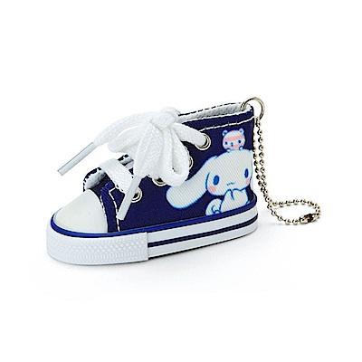 Sanrio 大耳狗喜拿快樂生活系列迷你帆布鞋造型吊鍊