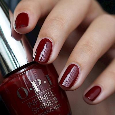 OPI 如膠似漆閃耀系列.紅色葡萄乾(ISL14)