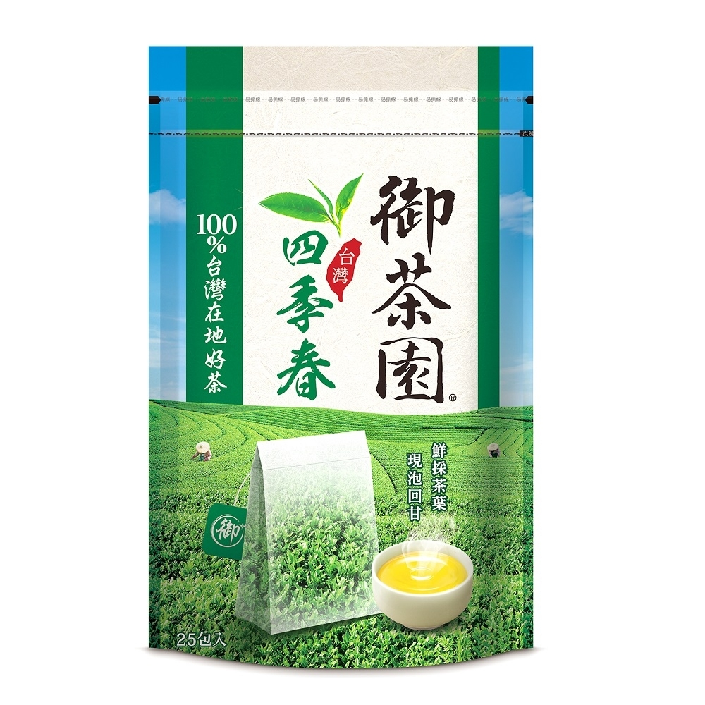 御茶園-台灣四季春茶茶包(25入/袋)