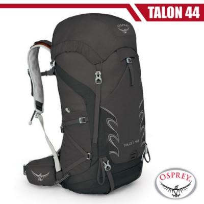 OSPREY 新款 Talon 44 輕量透氣健行登山背包(M/L)_黑 R