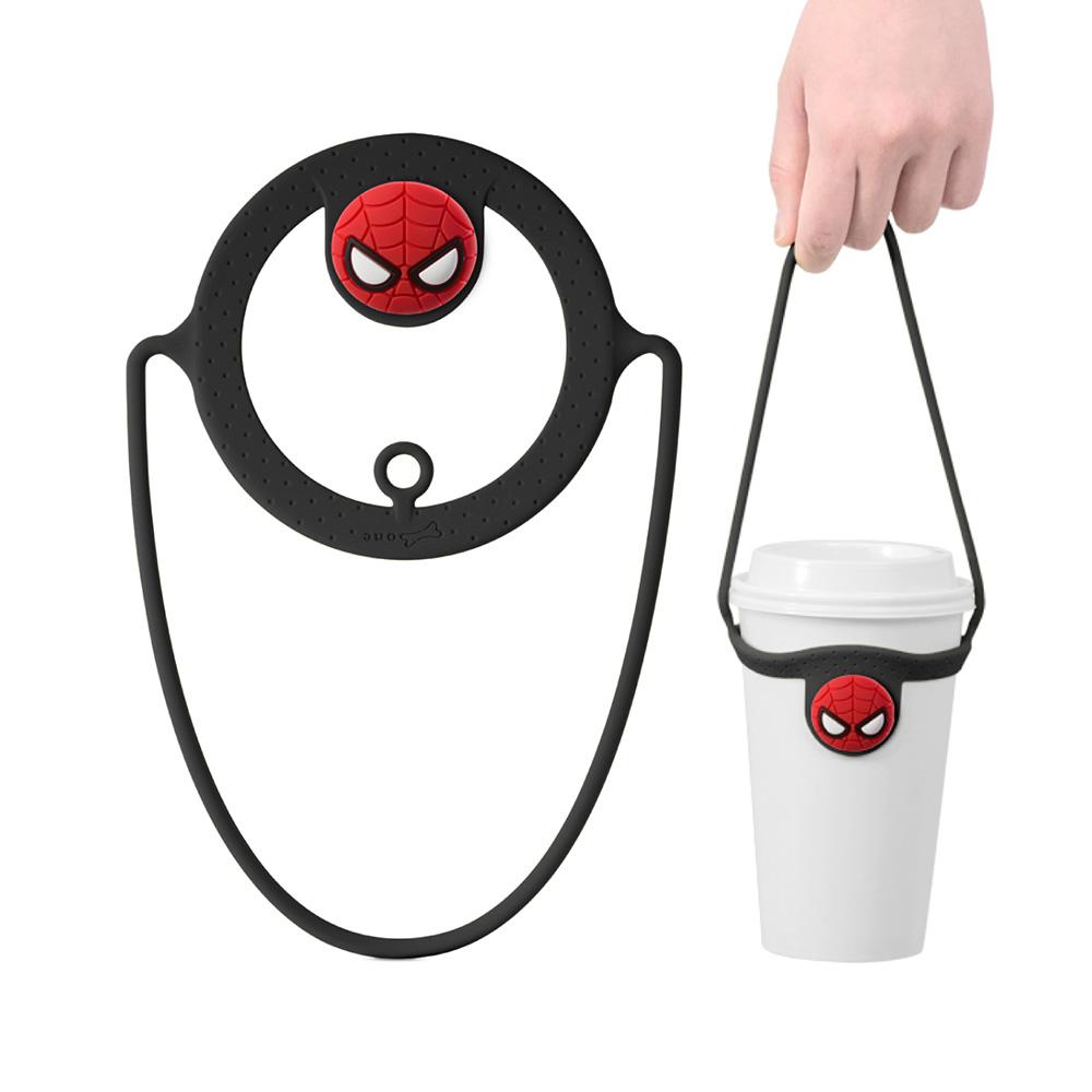 Bone Cup Tie 環保杯綁 - 飲料杯提袋再進化-蜘蛛人