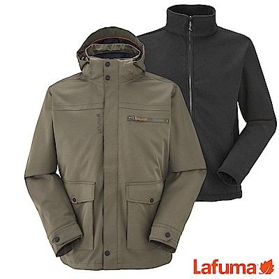Lafuma 男 兩件式防水保暖外套 褐 LFV105787302