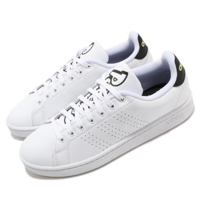 adidas 休閒鞋 Advantage 復古 低筒 男鞋 愛迪達 寶可夢 聯名 皮革鞋面 穿搭 白 黑 FW6670