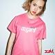 X-girl TENNIS S/S REGULAR TEE短袖T恤-粉 product thumbnail 1