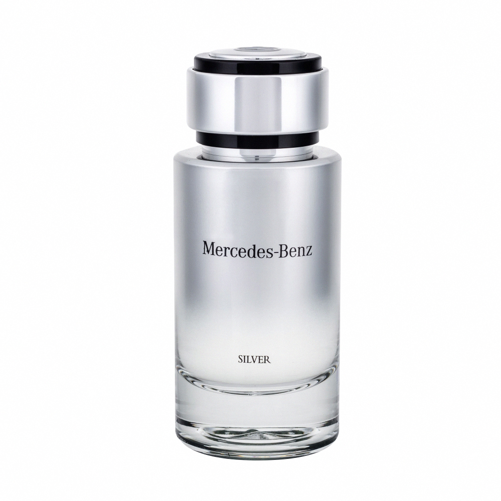 *Mercedes Benz SILVER 銀輝幻羽 男性淡香水125ml tester