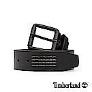 Timberland 中性黑色38mm皮帶|A1DQH