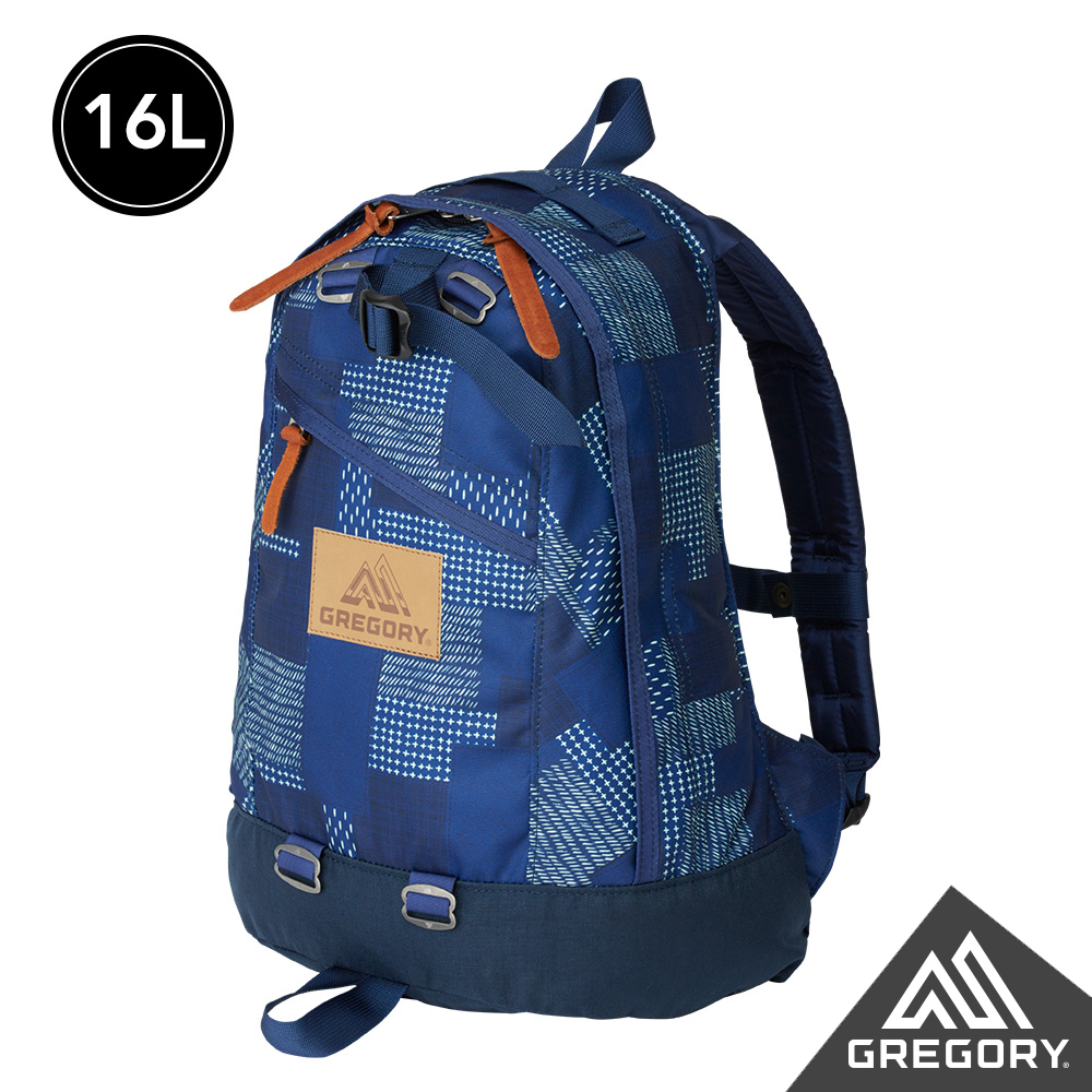 Gregory 16L FINE DAY後背包 拼接藍染