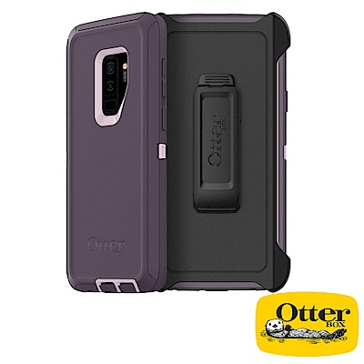 OtterBox Galaxy S9+防禦者系列保護殼-紫粉