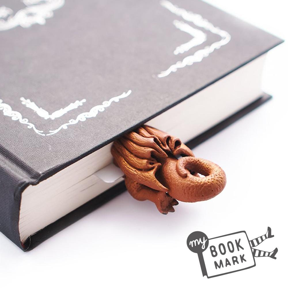 烏克蘭myBookmark-鑽回奇幻故事的巨龍書籤