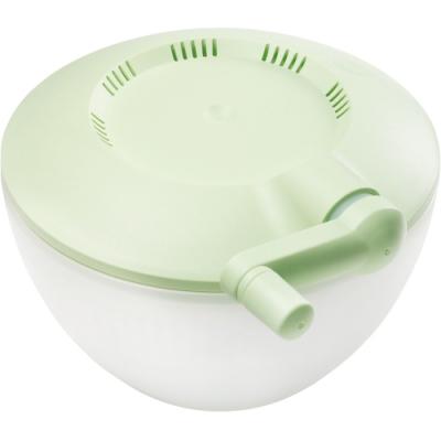 《GHIDINI》直式手轉蔬菜脫水器(萊姆綠)