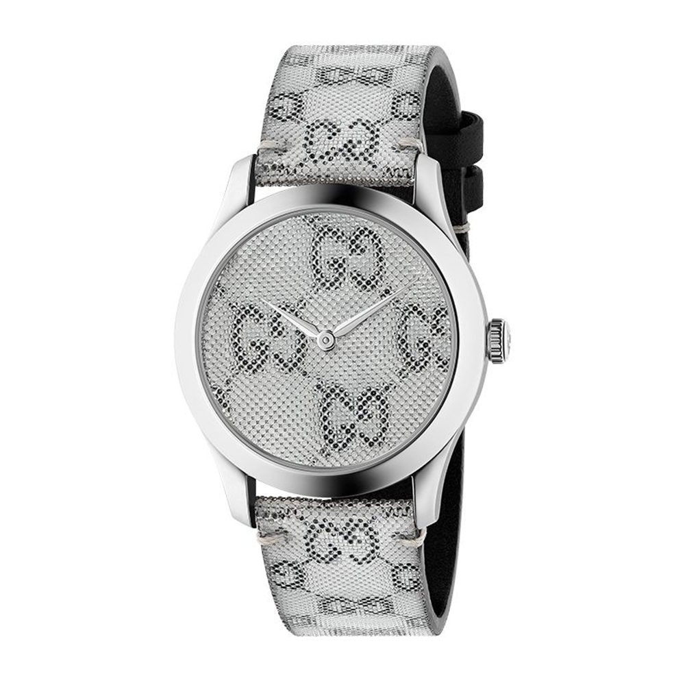 GUCCI G-TIMELESS浮動3D時尚腕錶38mm(YA1264058)
