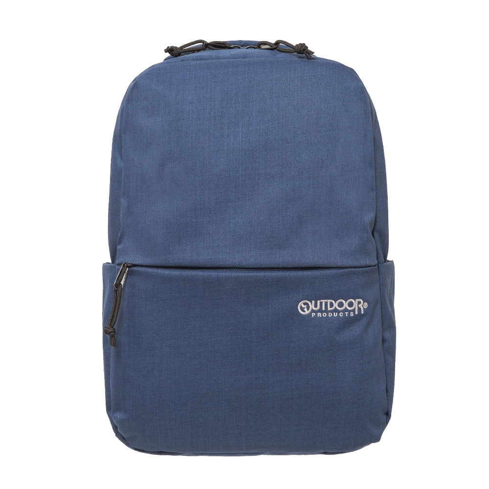 【OUTDOOR】極簡風尚-14吋筆電後背包M-藍色 OD191111NY