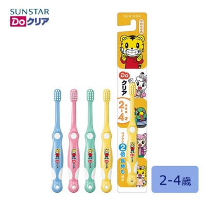 Baby童衣 日本三詩達 巧虎兒童牙刷 單支入 四色可挑