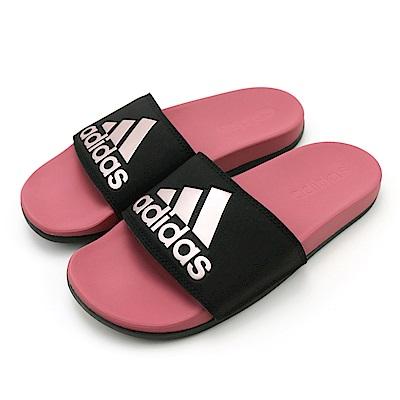 ADIDAS-ADILETTE COMFORT涼拖鞋-粉