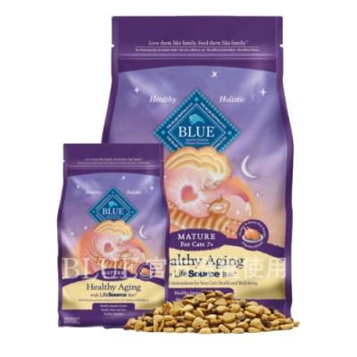 Blue Buffalo藍饌-寶護系列-高齡貓去骨雞肉 7LBS/3.2kg 兩包組