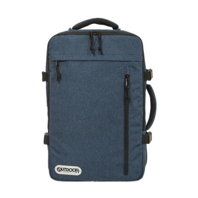 【OUTDOOR】悠遊寰旅-17吋筆電後背包-靛藍色 OD101132IO