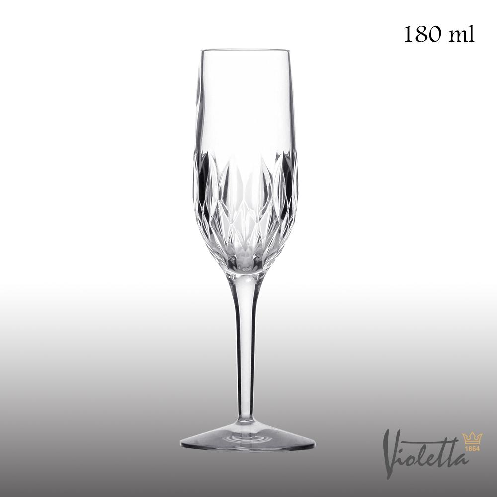 Royal Duke Violetta古典型鑽石香檳杯180ml