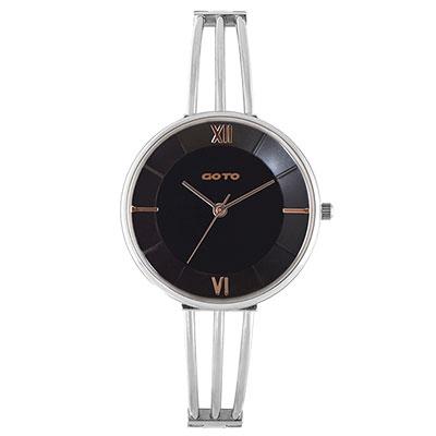GOTO Marine 海洋系列時尚手錶-黑/33mm