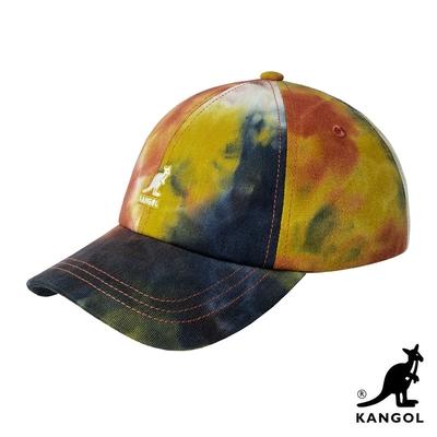 KANGOL-TIE DYE 棒球帽-金黃色