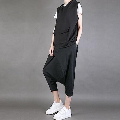 吊襠褲寬鬆顯瘦哈倫褲垮褲小腳-設計所在  MP1601