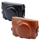 Kamera 兩件式皮質包 for Sony RX100 M3/M4/M5/M6/M7/5A