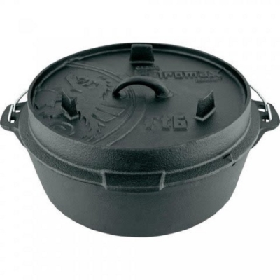 Petromax FT12-T 鑄鐵荷蘭鍋14吋(平底) 通過德國食品安全認證(LFGB)