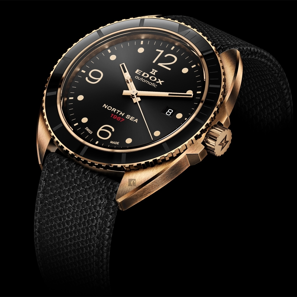 EDOX 1967 北海英雄青銅限量機械錶(E80118.BRN.N67)